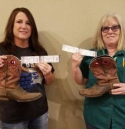 Two win tickets to Alan Jackson concert!