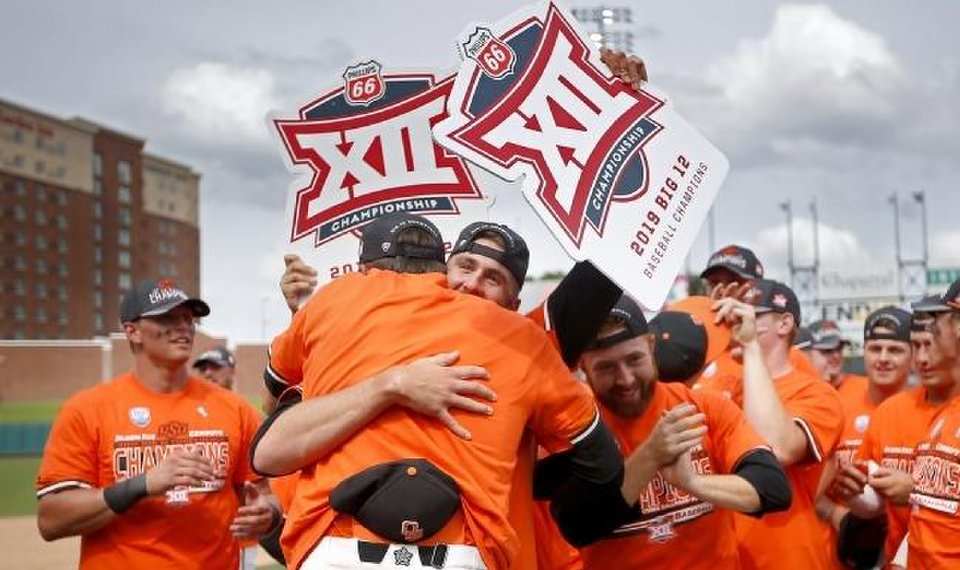 Cowboys win title tournament in Big 12