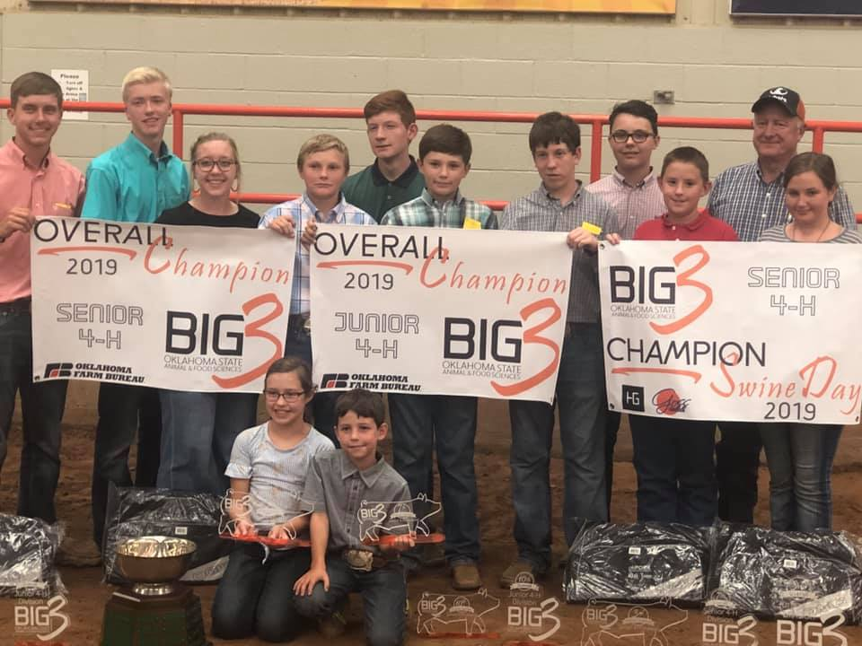 Kay County 4-H Teams Win Big at Regional Competition