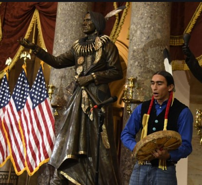 Standing Bear statue added to Statuary Hall in the U.S. Capitol