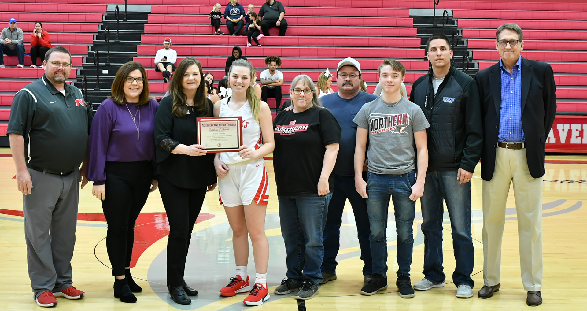 Cassie Manning receives Leo Canaday Scholarship
