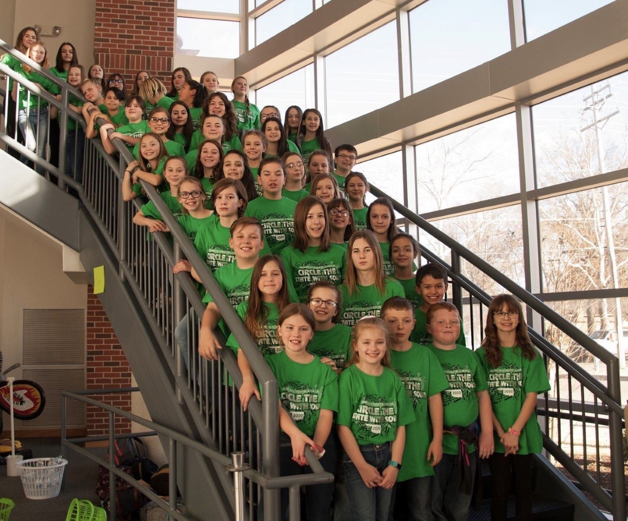 "Ponca City Honor Choirs perform at ""Circle the State With Song"" Festival"