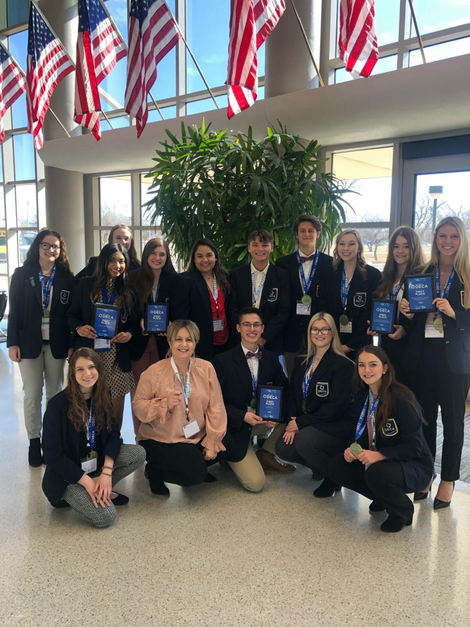 Po-Hi DECA students bring home top honors