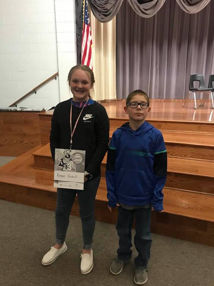 Two Liberty students compete in Regional Spelling Bee