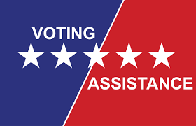 Special assistance available  to help voters on Election Day