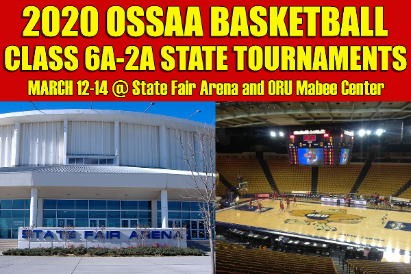 UPDATE: OSSAA POSTPONES ALL STATE BASKETBALL TOURNAMENTS
