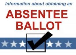Apply Now for Absentee Ballots
