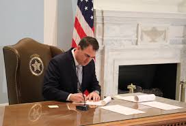 1st law of session signed by Stitt allows virtual meeting