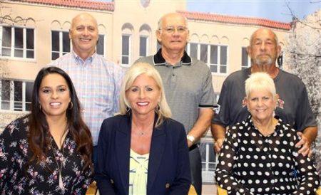 Ponca City School Board Leaders Honored