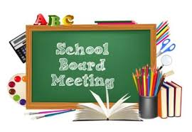 Board of Education Meeting Cancelled